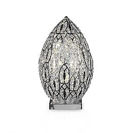 Egg-shaped crystal table lamp Egg