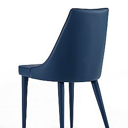 Modern Design Kitchen Chair Upholstered Made in Italy, 4 Pieces - Nirvana