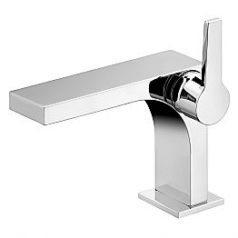 Single-lever basin mixer without waste in luxury design - Etto