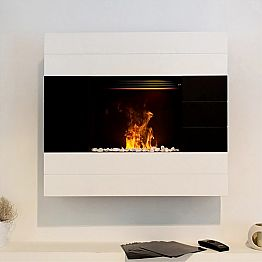 Electric fireplace with water vapour Besson