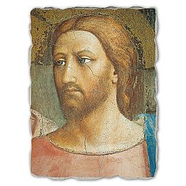 The Tribute Money by Masaccio, big size, made in Italy