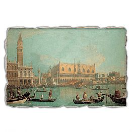 A View of the Ducal Palace in Venice by Canaletto, big size