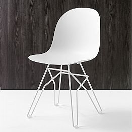 Connubia Calligaris Academy modern chair, set of 2, made in Italy