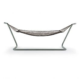 Hammock in Steel and Black Garden Design Made in Italy - Cumberland
