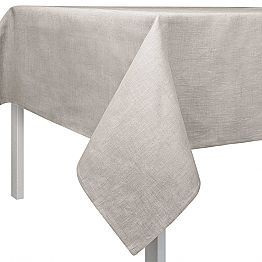 Natural Linen Square or Rectangular Tablecloth Made in Italy - Blessy