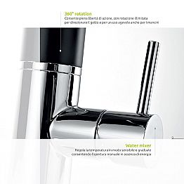 Dmp Hello 200 electronic battery powered faucet, modern design