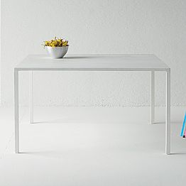 Luxury Design Square Table for Indoor in Concrete Made in Italy - Alejandro