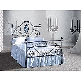 Wrought-iron small double bed Altea