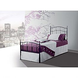 Wrought-iron single bed Ametista