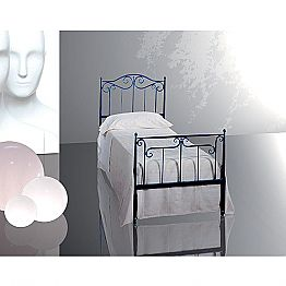 Wrought-iron single bed Auriga