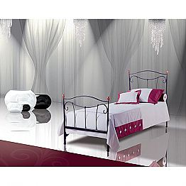 Wrought-iron single bed Dalia