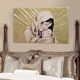 Painting Amore Infinito by Viadurinimilano Decor, made in Italy