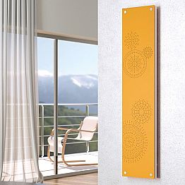Contemporary hot water radiator with cover New Dress by Scirocco H