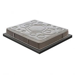 Luxury Memory Double Mattress 25 cm high Made in Italy - Arancia