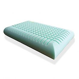 Ergonomic Memory Foam Cushion 12 cm high Made in Italy,2 pieces - Cool