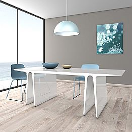 Modern multifunctional table made in Italy, Mignanego