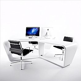 Modern design multi person office desk Ta3le, made in Italy